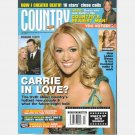 COUNTRY WEEKLY July 2 2007 CARRIE UNDERWOOD TONY ROMO LeAnn Rimes Tim McGraw Kellie Pickler