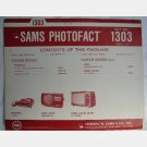 SAMS PHOTOFACT 1303 March 1973 Sears 564 40050100 Wards Airline Panasonic TR003 TP180C