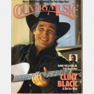 COUNTRY MUSIC May June 1991 Magazine Hank Williams Jr Poster CLINT BLACK Oak Ridge Boys