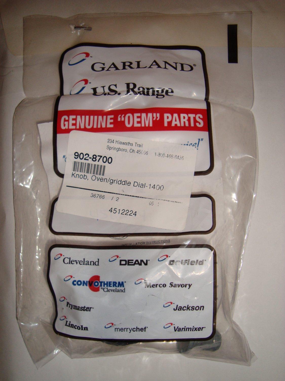 Garland US Range Knob 902-8700 Oven Griddle Dial 1400 4512224
