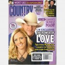 COUNTRY WEEKLY August 25 2008 Garth Trisha Yearwood Alan Denise Jackson Julianne Hough