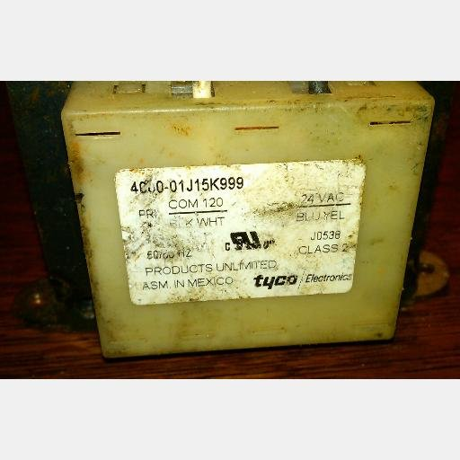 Tyco Electronics 4000-01J15K999 TRANSFORMER OUTLINE 15/16 120VAC Chassis Mount