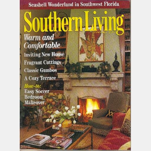 SOUTHERN LIVING January 1998 Kay Jimmy Fuller Greek Revival Home Richard Tubb