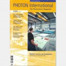 PHOTON International  August 2003 8 2003 Diffusion Furnaces Laminator Ontario Roof Program