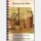 Sharing our Best Church Interest Group Swansboro Baptist Church Richmond VA Cookbook