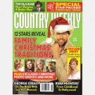 COUNTRY WEEKLY December 21 2009 Tim McGraw Toby Keith Taylor Swift Death Hoax Reba from Childhood