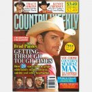 COUNTRY WEEKLY October 19 2009 BRAD PAISLEY Joe Dee Messina Halfway to Hazard Trace Adkins