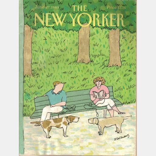 THE NEW YORKER June 27 1988 Hic Haec Hoc Penelope Gilliatt Jeffrey Shaffer Devera Ehrenberg
