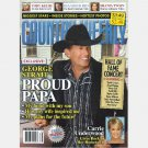 COUNTRY WEEKLY September 28 2009 GEORGE STRAIT Carrie Underwood Diamond Trio Shania Twain Toby Keith