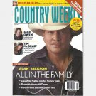 COUNTRY WEEKLY April 5 2010 ALAN JACKSON Denise Mattie Jake Owen Trisha Yearwood