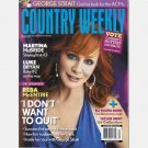COUNTRY WEEKLY March 29 2010 REBA MCENTIRE Eli Young Band Taylor Swift George Strait