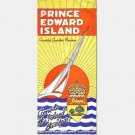 PRINCE EDWARD ISLAND Canada's Garden Province Fold Out Tavel Brochure 1950