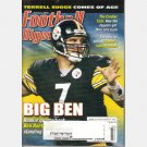 FOOTBALL DIGEST February 2005 BIG BEN Ben Roethlisberger Pittsburgh Steelers TERRELL SUGGS