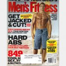 MEN'S FITNESS Magazine February 2005 Get Jacked Cut 7th Fittest Fattest City Report
