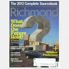 RICHMOND Magazine 2012 Sourcebook Business Homes Future Predictions Restaurants Dining