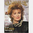 COUNTRY MUSIC May June 1990 Magazine Ricky Skaggs Poster Roy Clark K T Oslin