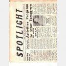 SPOTLIGHT Magazine January 28 1954 Belleville High School NJ M Rosamilia Denevieve De Angelo