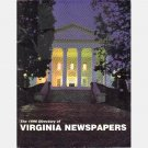 1996 DIRECTORY of VIRGINIA NEWSPAPERS Virginia Press Association