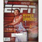 ESPN November 26 2001 Magazine TROY BELL BOSTON COLLEGE Ashley McElhiney Cedric Bozeman