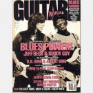 GUITAR WORLD July 1991 Jeff Beck Buddy Guy Stevie Ray's National Duolian POSTER BB Albert King