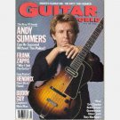 GUITAR WORLD April 1987 ANDY SUMMERS Frank Zappa BUDDY GUY Warren DeMartini 1968 Fender Stratocaster