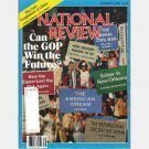 NATIONAL REVIEW September 16 1988 GOP WIN FUTURE? Last Temptation Christ Joseph Sobran