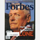 FORBES October 18 1999 JOHN MALONE King of Cable HARVARD Class of 49 NOVELL