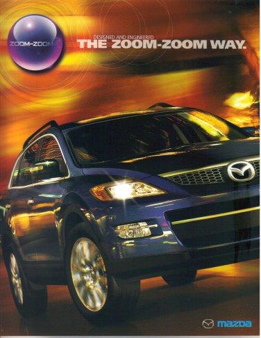 2008 Mazda Sales Brochure Catalog-The Zoom-Zoom Way-All Models-MX5 Miata-Mazda CX9-CX7-Mazda5