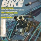 Custom Bike Magazine-June 1981-1970 Harley sportster-Mike Bisio-Arlen Ness-Mike Brusco