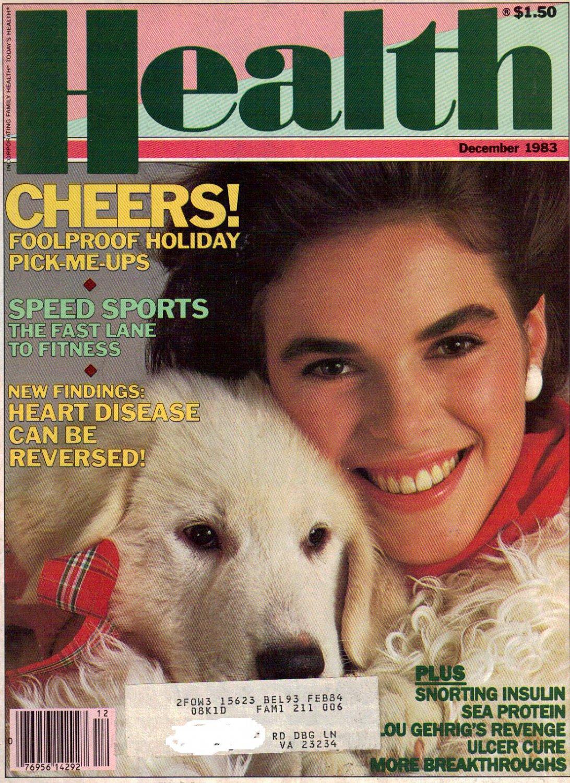 HEALTH December 1983 magazine MARIA JOHNSON CLAUDE PEPPER FISH SEA PROTEIN insulin