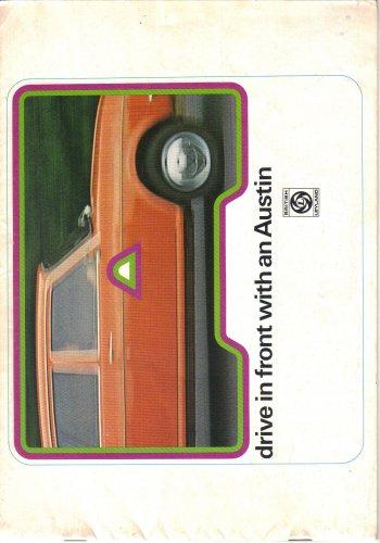Austin Mini 850 1000 Saloon Estate Clubman Allegro 1100 1300 1500 1750 Special De-luxe Maxi HL1974
