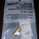 Watts A-715 Brass Pipe Nipple 1/8 inch MIP x Close No 113 UPC 048643072046
