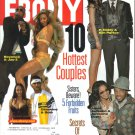 EBONY February 2004 10 Hottest Couples P Diddy Kim Porter Beyonce JayZ Ginuwine Sole