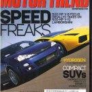MOTOR TREND August 2004 Porsche Boxter S Nissan 350Z BMW Z4 AUDI TT VR6 Chevy Equinox Ford Escape