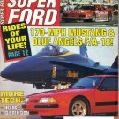 Super Ford Magazine June 1991-Brian Winer-Ford GT40-Lee Bard-1970 Mercury Marauder X100