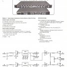 RANDALL INSTRUMENTS INC Owners Manual Schematic RRM 2 2 Amp Stereo Mono Pre Amp Amplifier