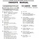 RANDALL INSTRUMENTS INC Owners Manual Schematic RG-60 RB-60 Amp Amplifier
