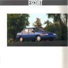 Ford Escort 1994 Sales Brochure booklet