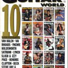 GUITAR WORLD July 1990 POSTER 10 years of GUITAR WORLD covers