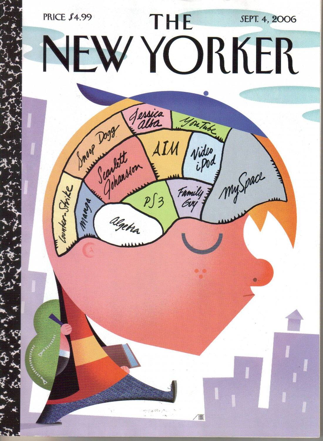 THE NEW YORKER September 4 2006 Magazine Back to Cool cover VW Ego Emmisions Index