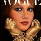 VOGUE UK cover December 1977 Dominique Hamonière