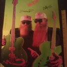 ZZ TOP POSTER Billy Gibbons Dusty Hill 1991 11 X 14