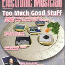 Electronic Musician Magazine-August 2003-Nine Inch Nails-Chris Vrenna-Yamaha AW2816