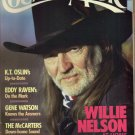 COUNTRY MUSIC November December 1988 No 134 KT Oslin Eddy Raven Gene Watson McCarters Willie Nelson
