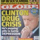 GLOBE December 5 2005 CLINTON DRUG CRISIS Brad Angelina Charlene Tilton Brooke Burns