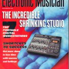 Electronic Musician Magazine-July 2001-Canadian physicist Hugh Le Caine-Steinberg Nuendo 1.5