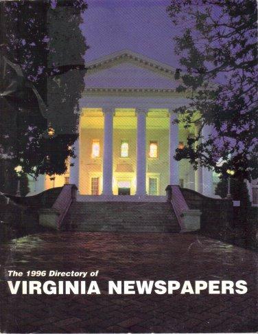 1996 DIRECTORY of VIRGINIA NEWSPAPERS Virginia Press Association