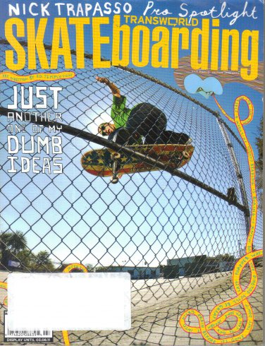 Transworld Skateboarding Magazine March 2011-Luan Oliveira-Nick Trapasso-Kenny Reed