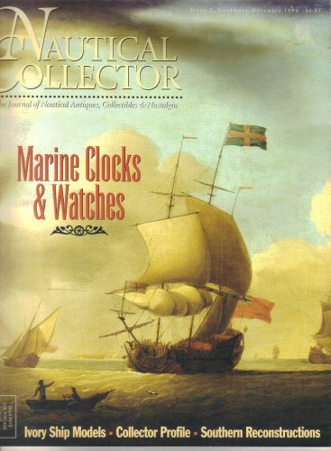 Nautical Collector Magazine-November December 1994-Bill Eisele-Marine Clocks Watches-SS Normandie