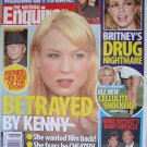 NATIONAL ENQUIRER November 28 2005 RENEE Zellwegger betrayed by Kenny Chesney Britney Drug